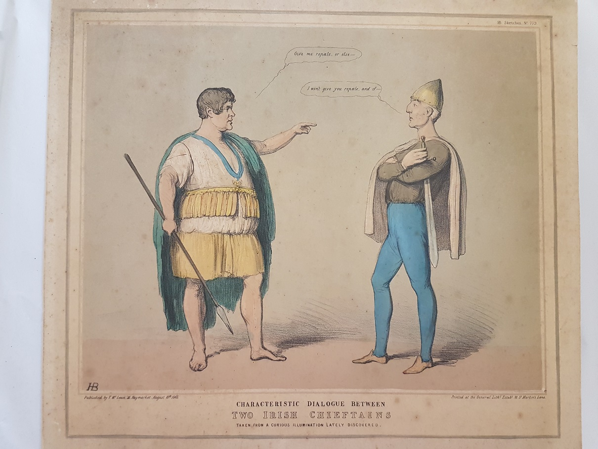 #HB Doyle #satire #James Doyle #Irish Prints